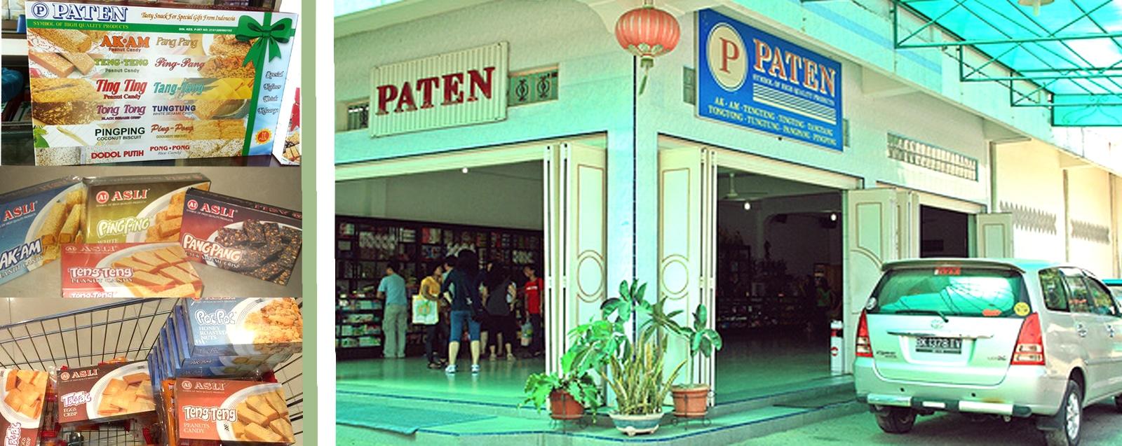 menikmati oleh oleh khas Toko Paten Siantar